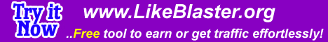 Earn $$ by doing likes or get traffic to your sites effortlessly