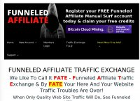 Funneled Affiliate Traffic Exchange